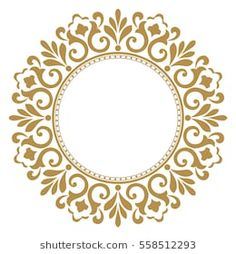 Decorative line art frames for design template. Elegant vector element in Eastern style, place for text. Lace illustration for invitations and greeting cards. Lace Painting, Stone Painting, Mandala Art, Motif Simple, Deco Paint, Decorative Lines, Advanced Embroidery, Pattern Coloring Pages, Clock Art