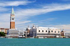 Piazza San Marco ve Doge Sarayı, Venedik, İtalya
