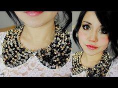 ▶ DIY collar cuellito y maquillaje 2 en 1 ♥ con Miku :3 - YouTube