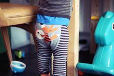 Drumming Fox Leggings – Mint Kids Clothing