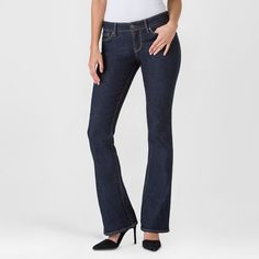 Denizen from Levi's Women's Modern Boot Cut Jeans - Limo - 14 Short
