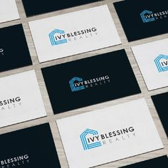 Unique name needs unique logo and identity.  Help me launch Ivy Blessing Realty. by MayarDesign™