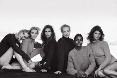 90s supermodels reunion for Vogue Italia   By Peter Lindbergh