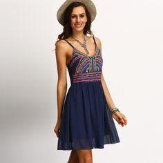 fb59992599f Hot Style High Quality Printed Chiffon Dress · Sexy DressesCute DressesFashion  DressesSuit FashionBeach DressesFashion StylesSummer ...