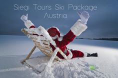 White Christmas Ski Package Austria with Siegi Tours. Book with the ski package expert since Christmas is the most magical time of the year! Christmas Time, Christmas Cards, Xmas, Ski Packages, Austria, Skiing, Packaging, Tours Holidays, Outdoor Decor