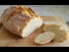 DOMOWY CHLEB Z GARNKA - Jak zrobić??? (bez zakwasu) - YouTube Bread, Make It Yourself, Youtube, Food, Brot, Essen, Baking, Meals, Breads