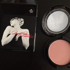Limited Edtion MM Mac Blush Brand New- Never Been Used - Limited Edition Marilyn Monroe Mac Blush in The Perfect Cheek MAC Cosmetics Makeup Blush