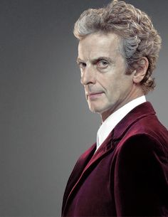 The Twelfth Doctor played by Peter Capaldi. Doctor Who Funny, Doctor Who Art, Doctor Who Quotes, Peter Capaldi Doctor Who, David Tennant Doctor Who, Twelfth Doctor, Eleventh Doctor, Dr Who Series, Saint Matthew