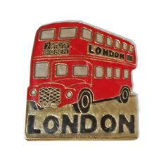 Distinctive London, England British UK Route Master / Routemaster / Bus Lapel Pin Badge Souvenir