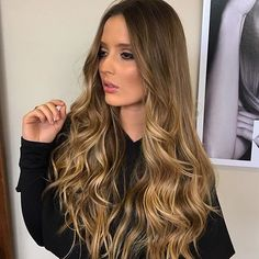 Hair Inspo, Hair Inspiration, Cabelo Ombre Hair, Color Rubio, Natural Haircare, Layered Cuts, Dyed Hair, Girl Hairstyles, New Look