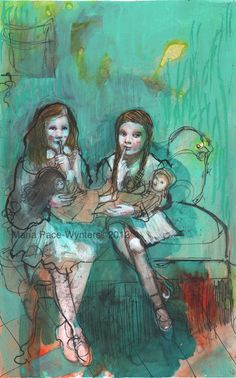 Shhh...Dollies-Sleeping  by Maria Pace-Wynters