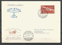 SWITZERLAND - MICHEL nr 470 FDC (5171) Switzerland, Map, Personalized Items, Cards, Postage Stamps, Location Map, Maps, Maps, Playing Cards