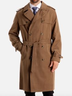 08a5ee52fb8 8 Classic Jackets With A Military Heritage. Trench Coat MenDouble Breasted  ...