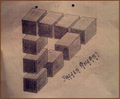 Magical triangle by Yasser Ansari