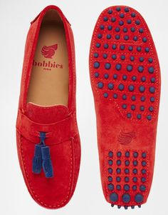 Image 3 of Bobbies Dandy Suede Driving Shoes