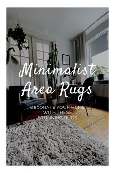 Do you love minimalist design but don't want a home that feels bare? Then knowing how to add key decorative items to give more coziness to a room is essential, rugs are great decorative and comfortable pieces that can match a minimalist home, discover 10 beautiful minimalist rugs that will fit any space. #minimal #minimalism #minimalist #decor #homedecor #interiordesign #minimalisthome #minimalistrug Minimalist Rugs, Minimalist House Design, Decorating Your Home, Diy Home Decor, Mid Century Decor, Interior Design Tips, Rugs In Living Room, Home Decor Inspiration, Decorative Items