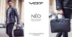 Nouveauté Collection Sacs et Bagages: VO7 Néo VO7 vous invite à découvrir la VO7 Néo. Cette serviette qui présente certaines similitudes avec la VO7 District s'en distingue principalement par un revêtement entièrement en cuir...  VO7® - Le Blog