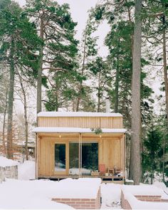 House By The Sea, House In The Woods, Space Architecture, Architecture Details, Style At Home, Villas, Tiny House Shipping Container, Diy Cabin, Living Etc