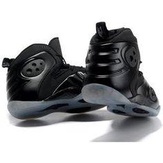 www.asneakers4u.com Nike Zoom Rookie LWP Penny Hardaway Shoes Black/Grey