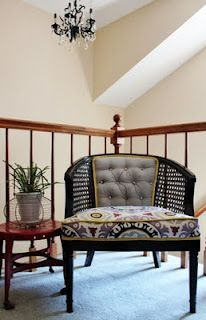 Furniture redos on pinterest cane chairs rocking chair redo and
