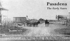 Pasadena (Texas) The Early Years history book.  An extensive study of the agricultural history of the east Harris County Texas community from 1893 to 1937.