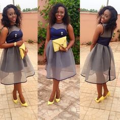 Perfect Wedding Guest Dresses To Inspire Your Next Look - Wedding Digest NaijaWedding Digest Naija African Lace Dresses, Latest African Fashion Dresses, African Attire, African Wear, Elegant Dresses, Pretty Dresses, 50s Dresses, Short Gowns, Cocktail Attire