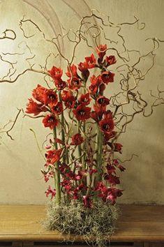 Gunnar Kaj - Floral design at the Nobel Banquet in Stockholm City Hall 2012. Photo Charlotte Gawell.