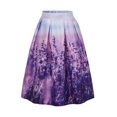 Dreamy Lavender Field Skirt