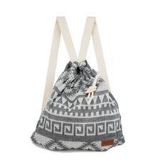 Sand Cloud Aztec Boho Bag Towel. 65$ genius, bag and beach towel all in one.