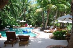 Little Palm Island, FL.  I want to be reading a book on that lounge chair!!