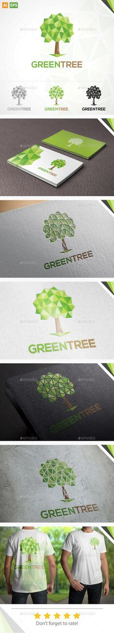 Tree - Logo Design Template Vector #logotype Download it here: http://graphicriver.net/item/tree-logo/11174552?s_rank=972?ref=nexion