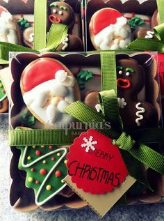 Christmas cookies box