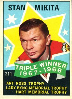 A look at some of the vintage hockey cards and sets from the original six NHL franchises. Hockey Goalie, Hockey Games, Ice Hockey, Blackhawks Game, Chicago Blackhawks, Chicago Cubs, Hockey Players, Team Player, Sports Figures