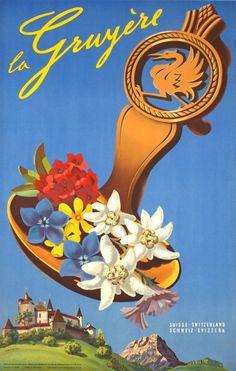 La Gruyère - Vintage Posters - Galerie 123 - The place to find vintage art