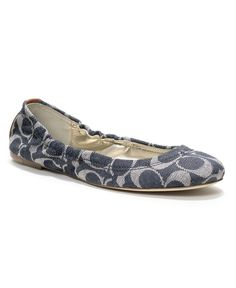 COACH ALY FLAT - Coach Shoes - Handbags & Accessories - Macy's