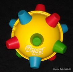 ERTL Bumble Ball Vibrating Bouncing Autism Special Needs Sensory Toy