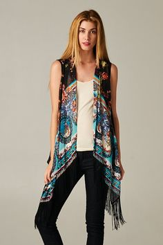 Kimono Chiffon Cardigan- Floral Print by TeakaMarie on Etsy https ...