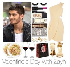 """Valentine's Day with Zayn"" by juliaskorzewska1 ❤ liked on Polyvore featuring Oasis, Lulu*s, NARS Cosmetics, Chanel, Retrò, Bobbi Brown Cosmetics, ASOS and Holmegaard"