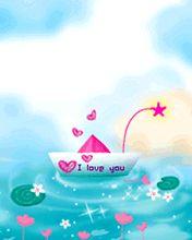 Hãy để chiếc thuyền chở tình yêu của bạn đến bến bờ hạnh phúc với tải hình nền tình yêu – Chiếc thuyền yêu thương nhé!