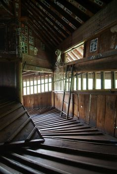 Old Japanese House amazing architecture design - Art and Architecture Architecturia Fukushima, Architecture Design, Japanese Architecture, Amazing Architecture, Bg Design, Japanese Interior, Stairway To Heaven, Japanese House, Japanese Castle
