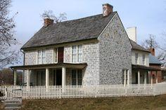 Daniel Harrison House, Rockingham County, Virginia, c.1749  My 6th Great Grand Uncle, Dayton Virginia, brother to Thomas Harrison, founder of Harrisonburg.