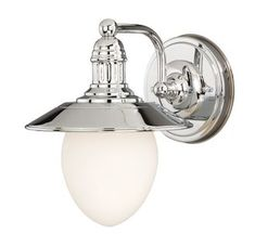 View the Vaxcel Lighting W0051 Marina Bay 1 Light Bathroom Sconce - 11.75 Inches Wide at LightingDirect.com.
