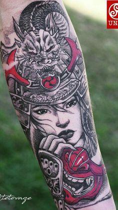 Modish Samurai Girl Tattoo Yakuza Girl Tattoo Hd Wallpapers Yakuza Women TattooSamurai Girl Tattoo 201975 Of The Best Samurai Tattoo Designs Outstanding Samurai Girl TattooWinsome… Geisha Tattoos, Geisha Tattoo For Men, Geisha Tattoo Design, Tattoos 3d, Bild Tattoos, Asian Tattoos, Forearm Tattoos, Body Art Tattoos, Temporary Tattoos