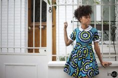 African Prints in Fashion: INYÜ new collection: La Parisienne