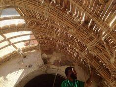 durante la construcción  #canyaviva #porche #mataró #cursos