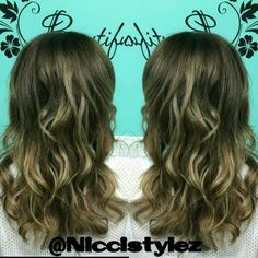 Hello sexy ombre..   #hair #haircut #hairstylist #highlights #longhair #shorthair #colorful #color #ombre #balayage #torontohairstylist #toronto #stylist #tattoo #l4l #fitness #fitmom #work #workout #independent  #invertedbob #sexy #confidence #love #girl #oakville #salon #niccistylez