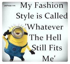 Funny Minion Jokes About Fashions
