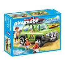 PLAYMOBIL Summer Fun familieterreinwagen met kajaks 6889