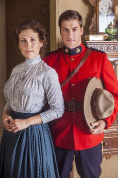Erin Krakow, Daniel Lissing, When Calls the Heart, Hallmark Channel Original Series