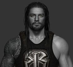 ArtStation - Roman Reigns done for WWE, Hossein Diba